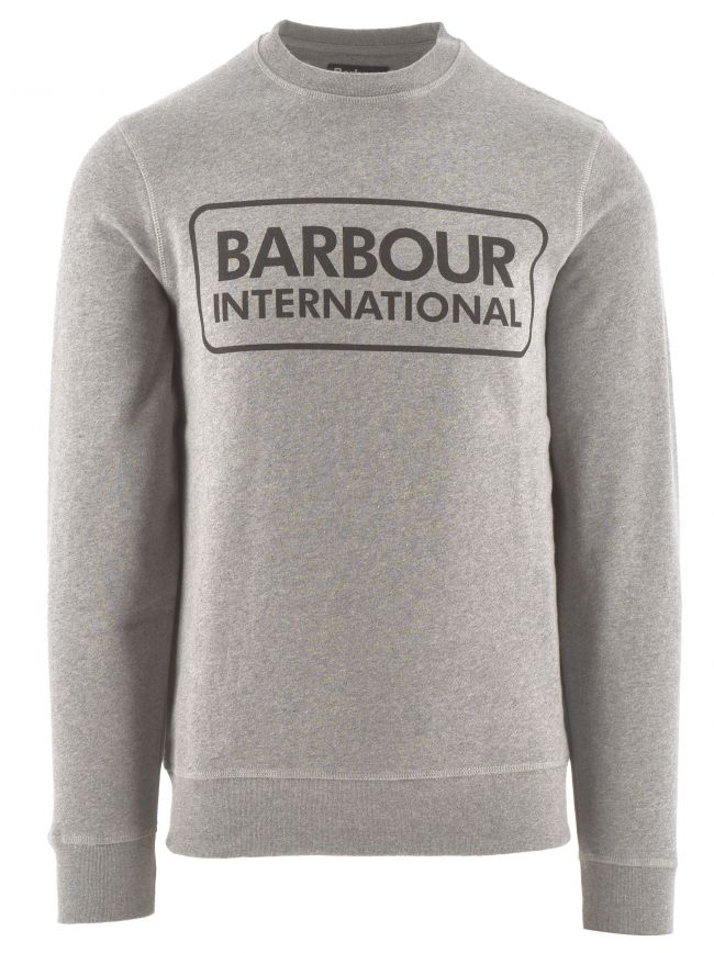 Grey Large Logo Sweatshirt