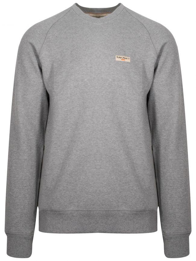 Samuel Grey Melange Sweatshirt