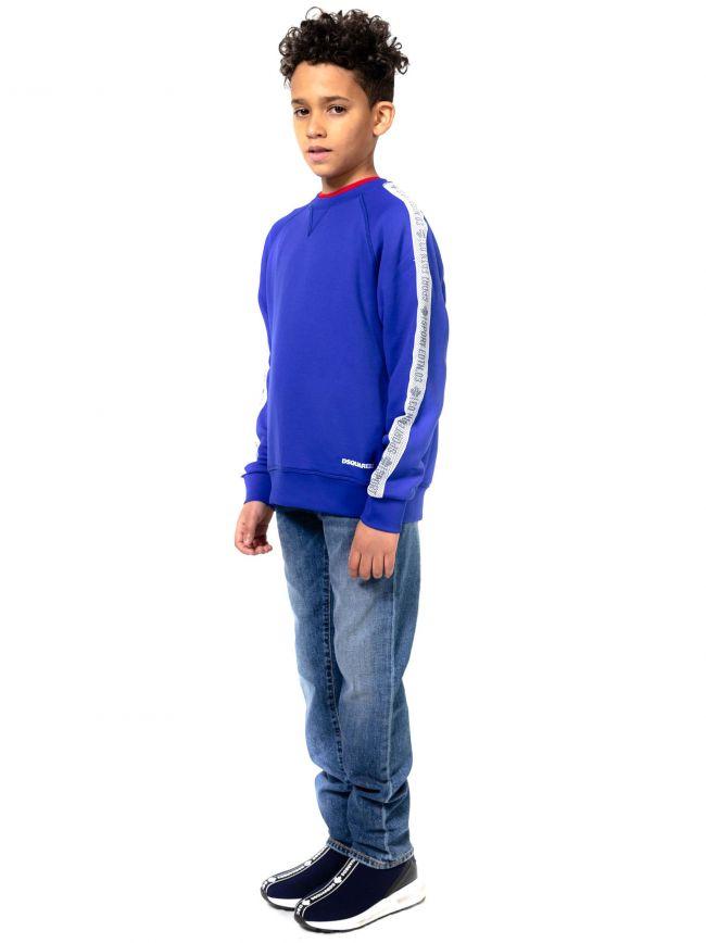 Blue Cool Fit Sweatshirt