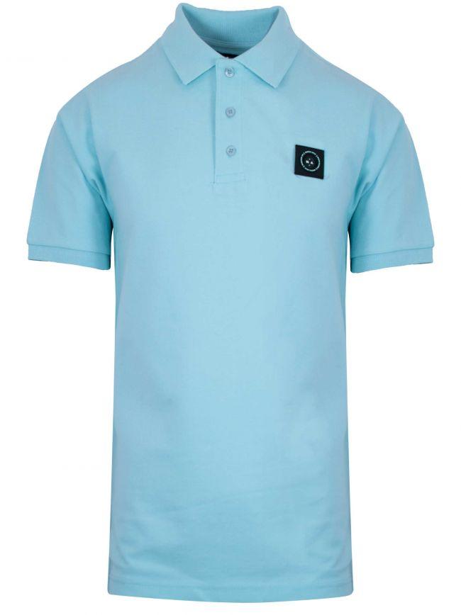 Sky Blue Siren Polo Shirt
