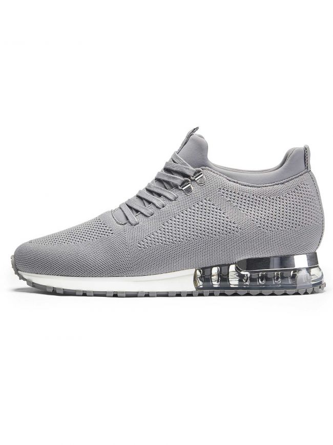 Grey Tech Runner Sneaker