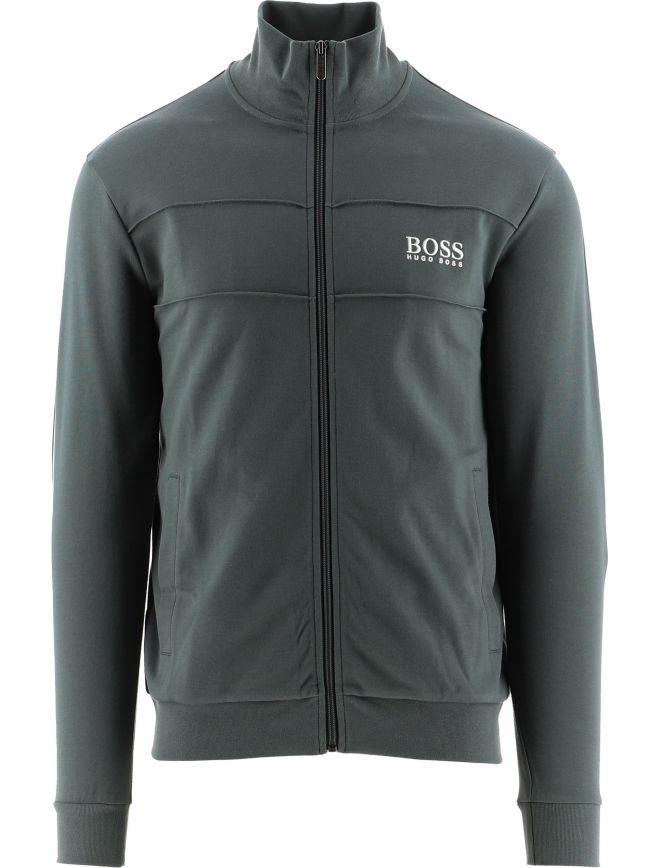 Dark Green Lightweight Zip-Up Jacket