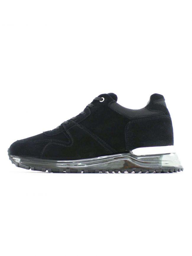 Almorah Gas Black Sneaker