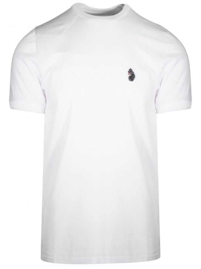 White 'Mr Clarke 2' T-Shirt
