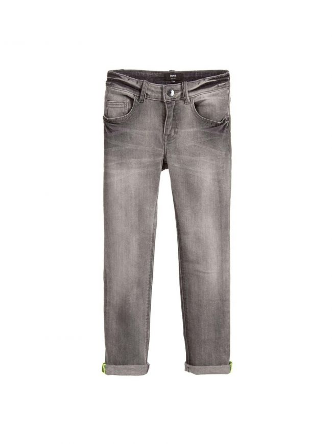 Light Grey Slim Fit Jean