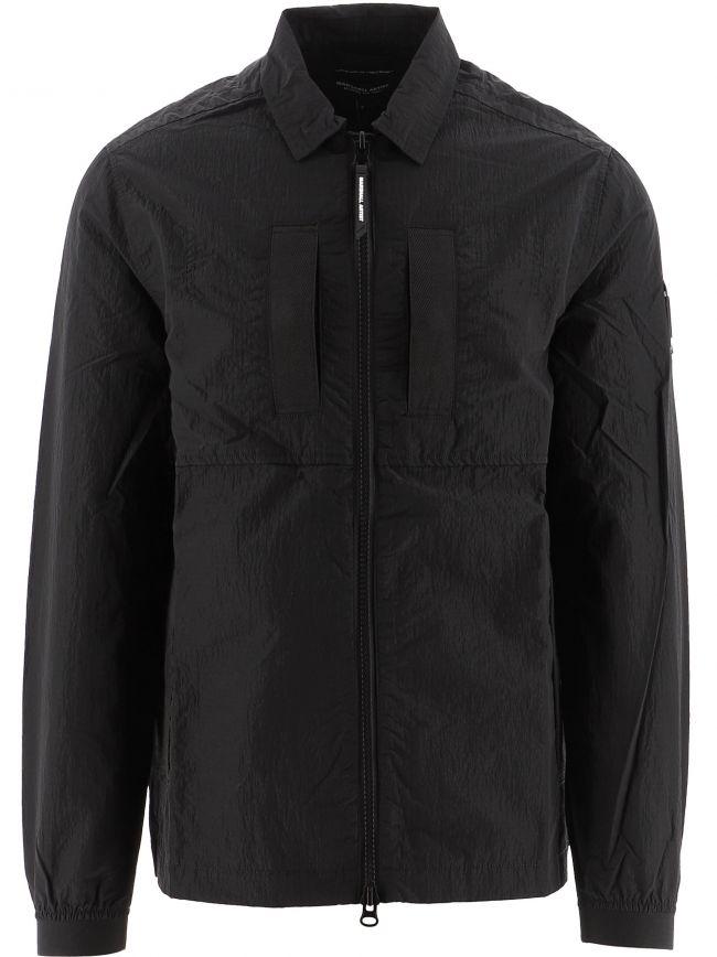 Black Liquid Ripstop 420 Overshirt