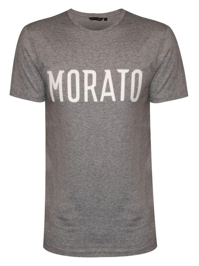 Raised Logo Grey T-Shirt