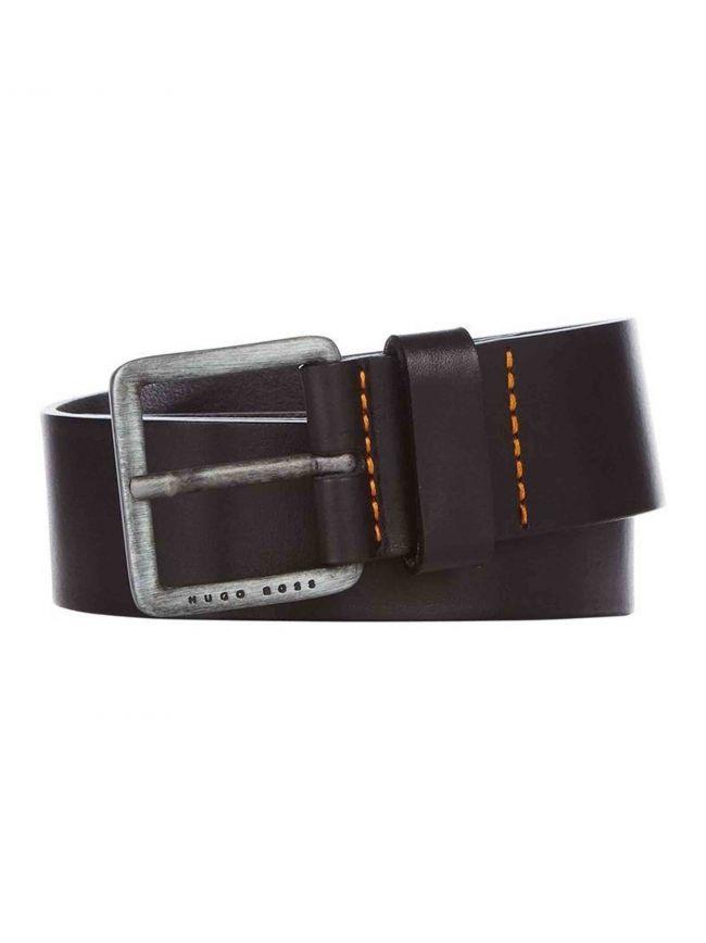 Brown Pin Buckle Leather Jeeko Belt