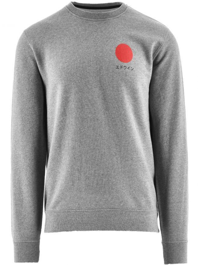 Grey Japanese Sun Sweatshirt