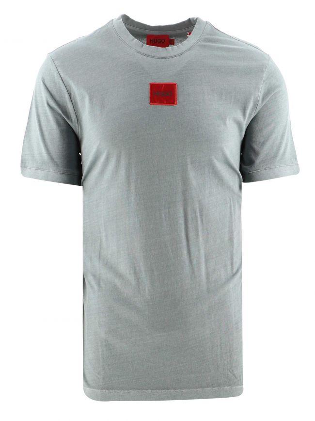 Blue Cotton Diragolino D T-Shirt