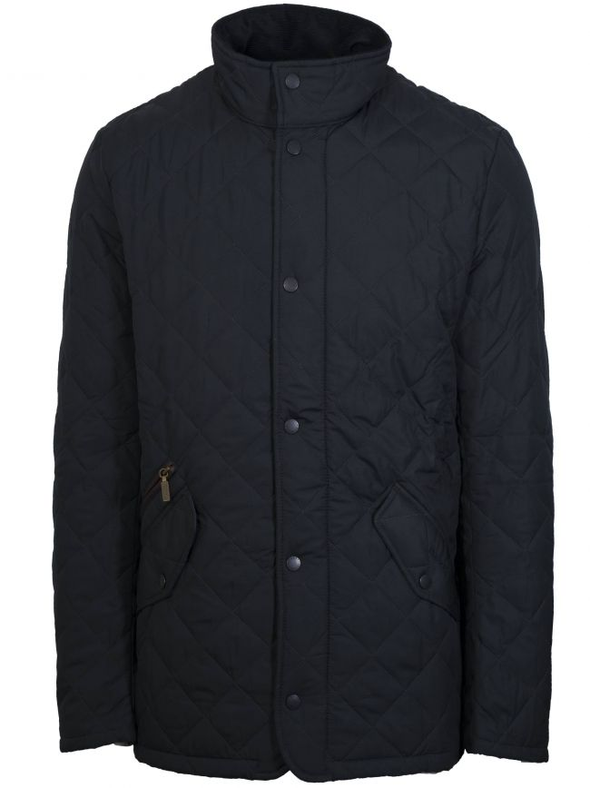 Navy Chelsea Sports Quilt Jacket