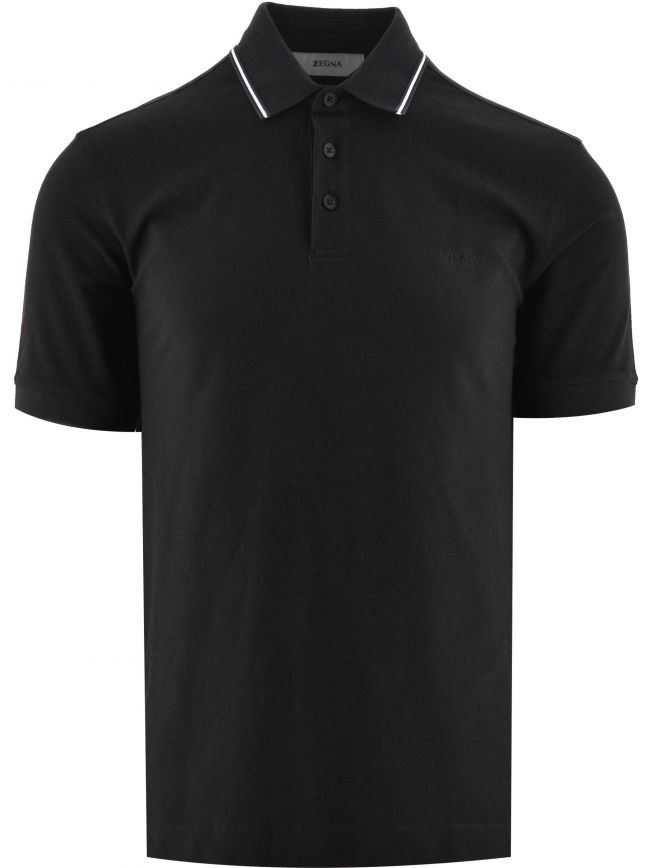 Dark Navy Short Sleeve Polo Shirt
