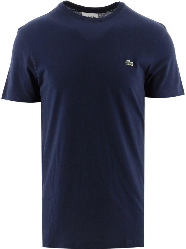 Navy Short Sleeve Crew Neck T-Shirt