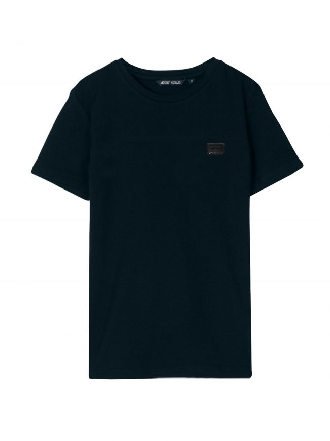 Antony Morato Kids Navy Plaque Logo T-Shirt