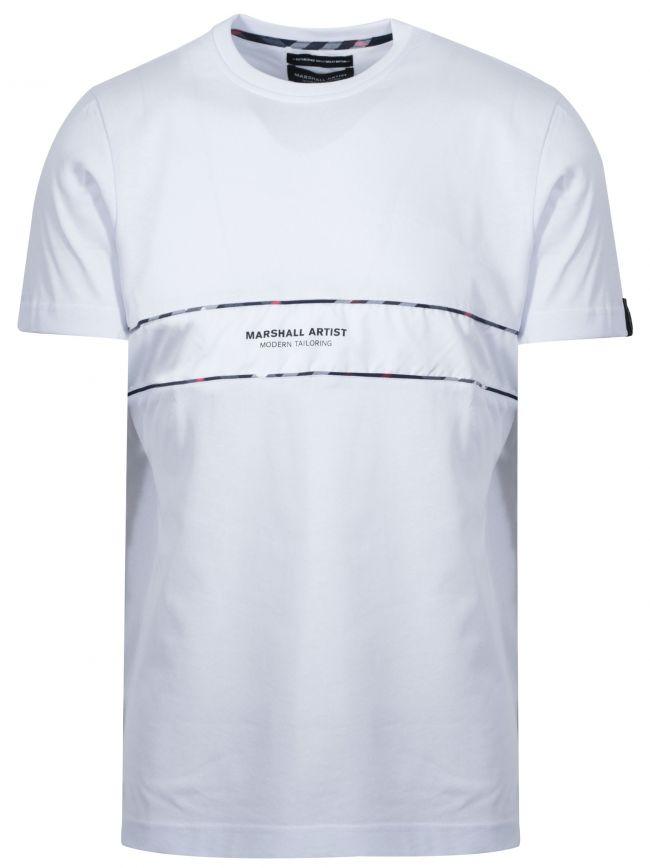 White Short Sleeve Logo T-Shirt