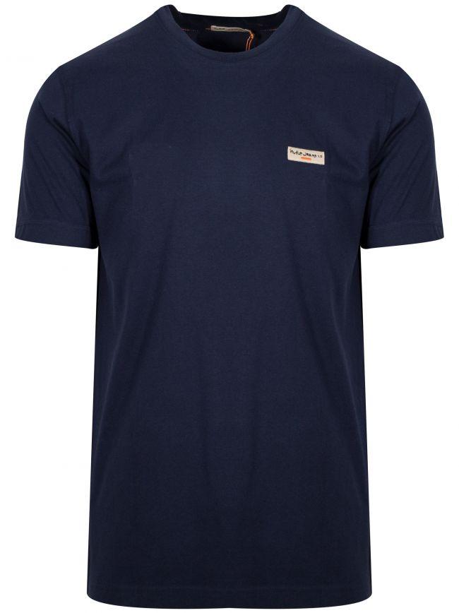 Daniel Navy Blue Logo T-Shirt