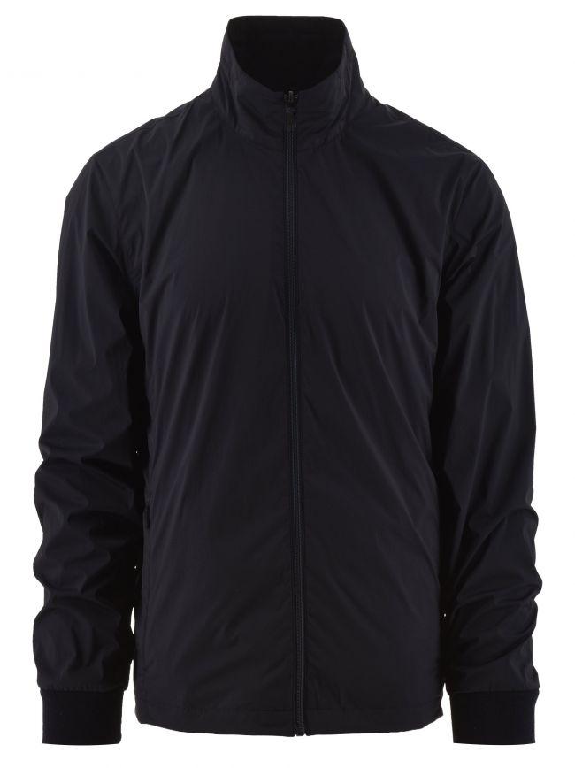 Dark Blue Reversible Techmerino Jacket