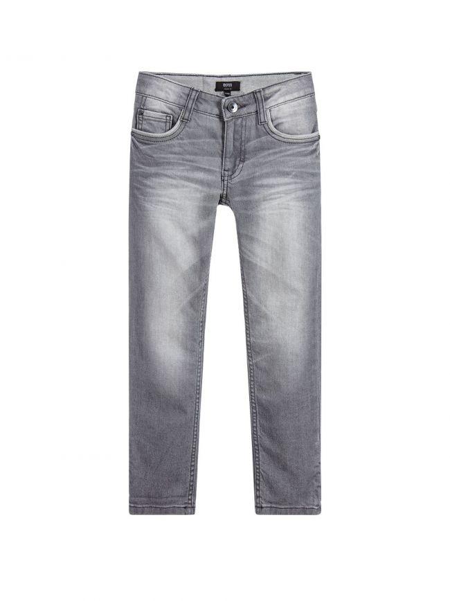 Light Grey Skinny Fit Jean