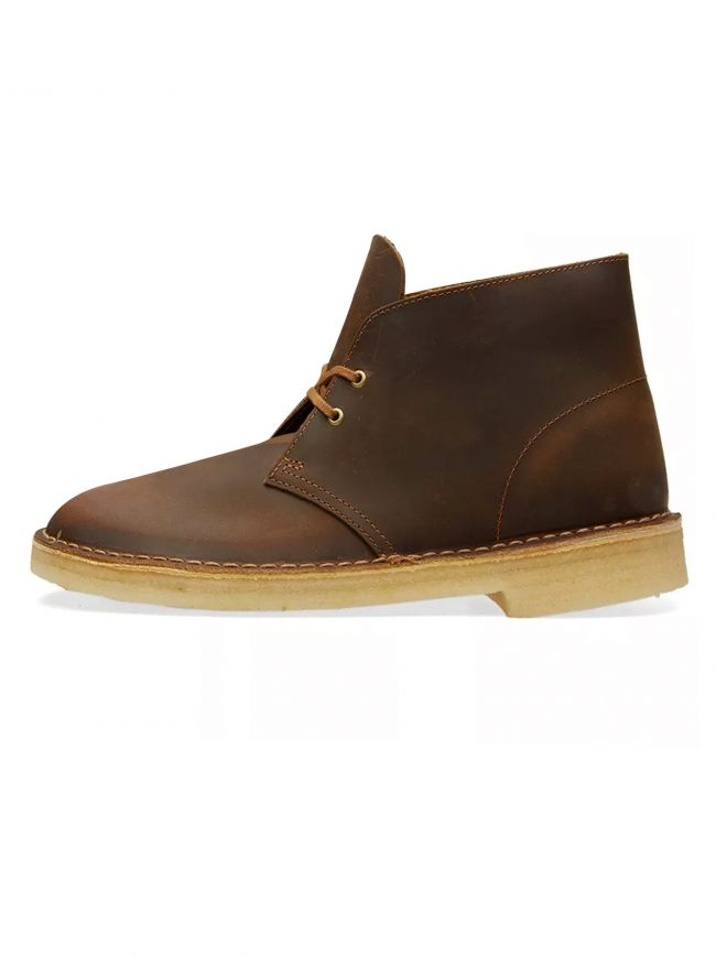 Beeswax Leather Desert Boot