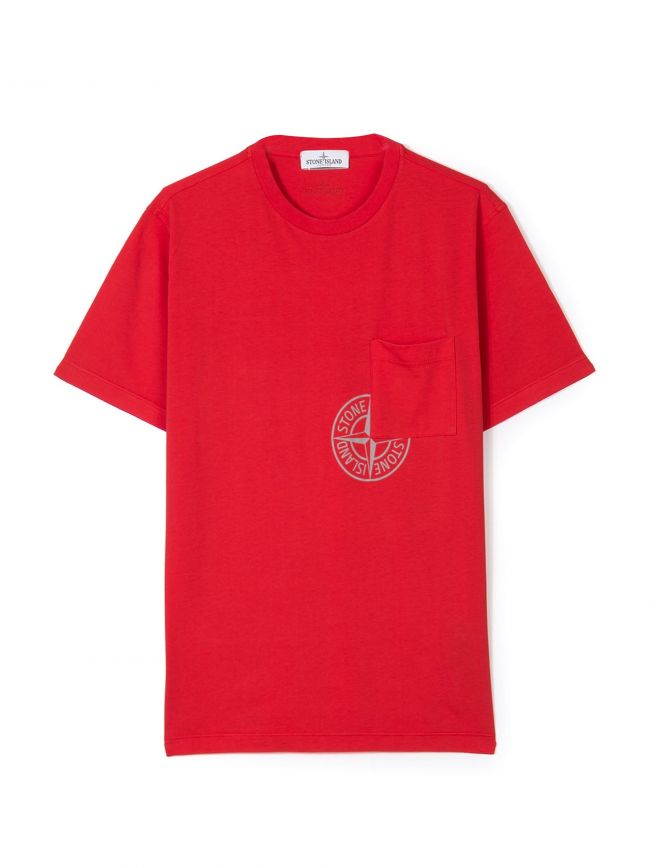 Red Pocket Logo T-Shirt