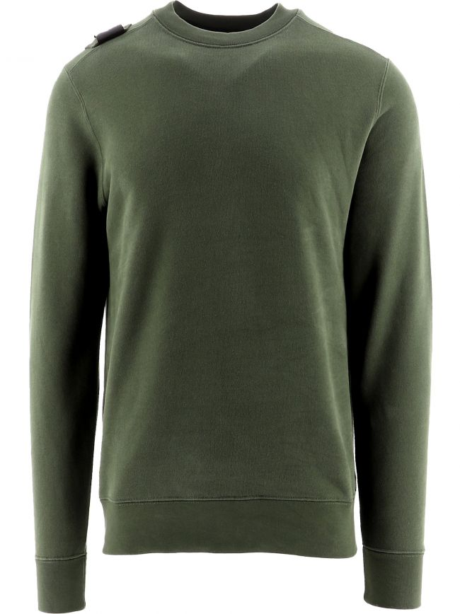 Green Core Crew Neck Sweatshirt