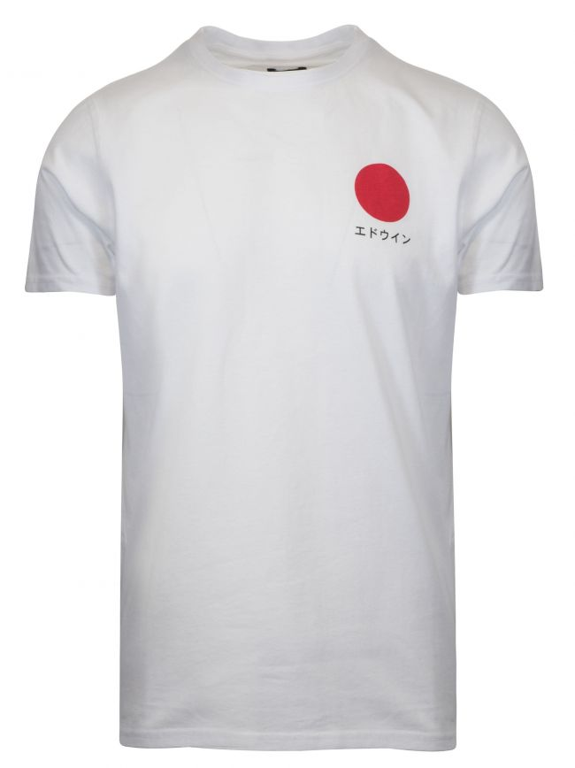 White Japanese Sun T-Shirt