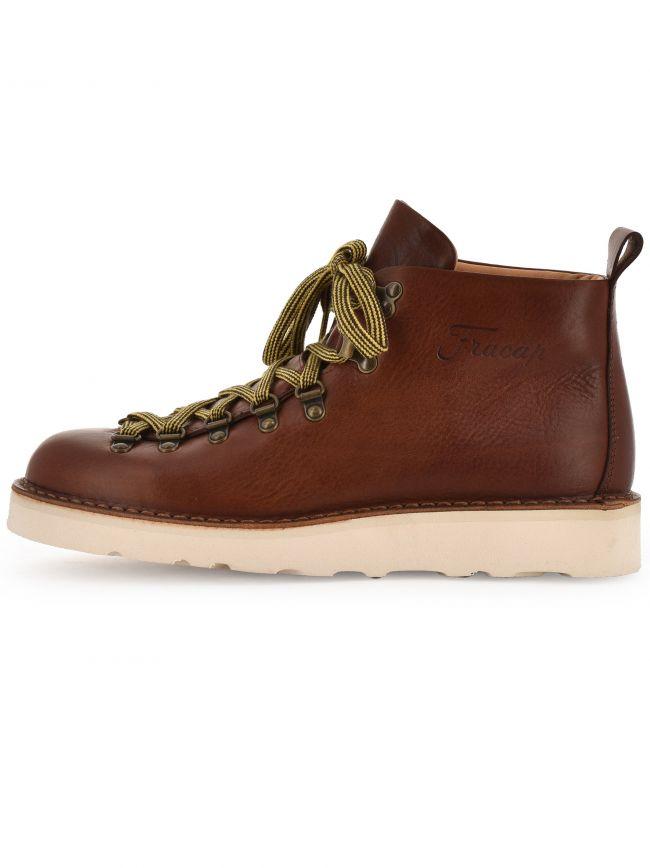 Brown Vibram Sole Scarponcino Boot