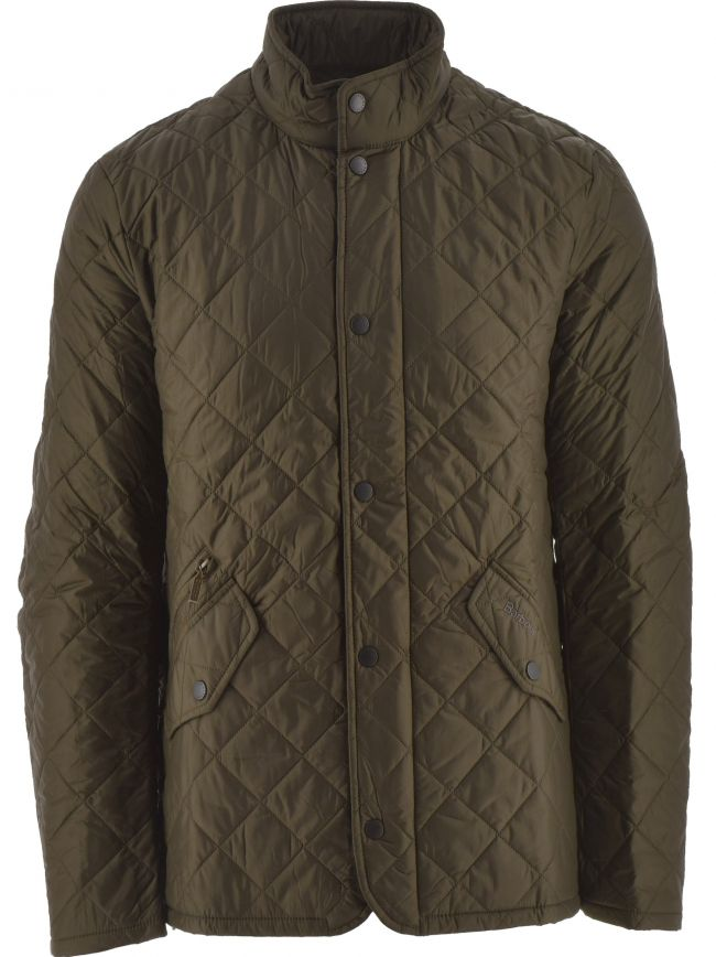 Olive Flyweight Chelsea Quilt Jacket