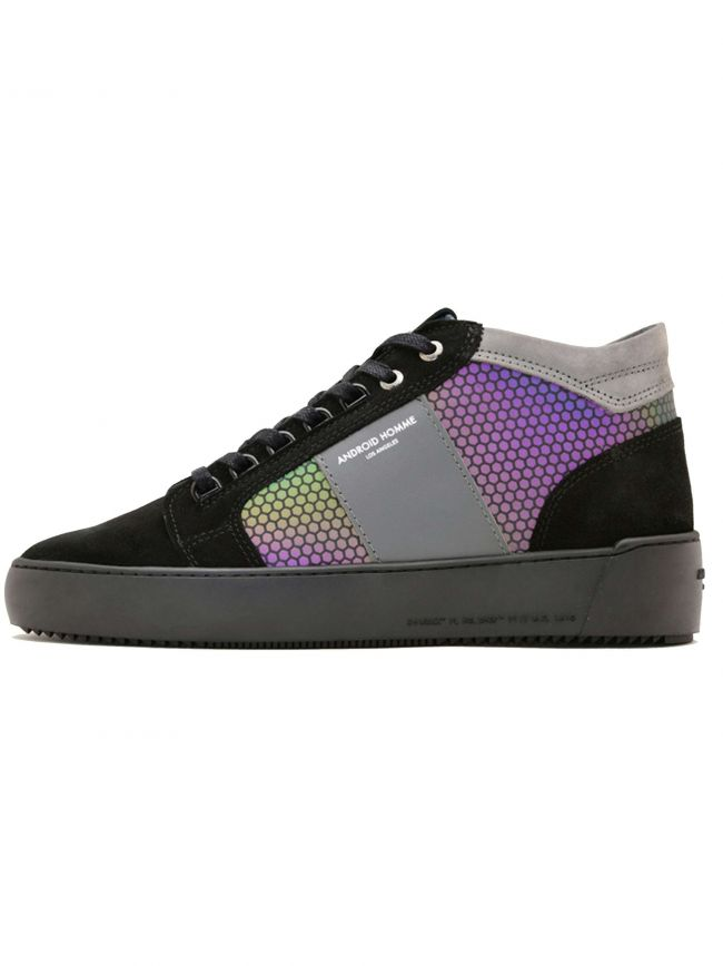 Black Hex Reflect Propulsion Mid Sneaker
