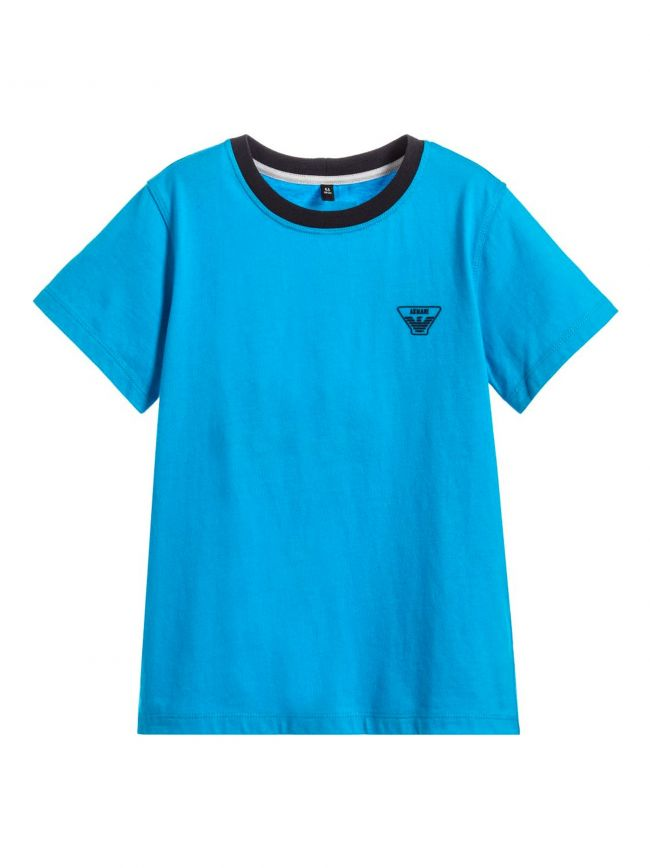 Turquoise Crew Neck T-Shirt