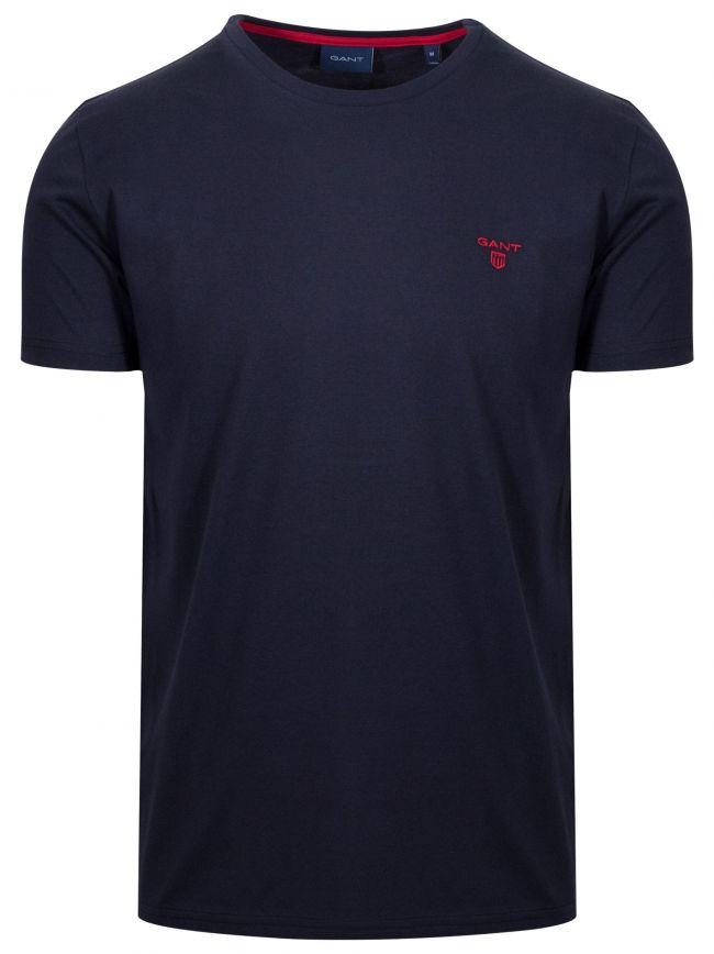Navy Classic Crew Neck T-Shirt