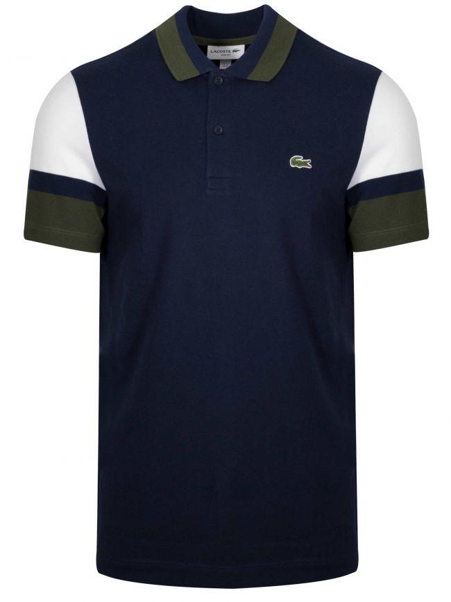 Slim Fit Navy Polo Shirt