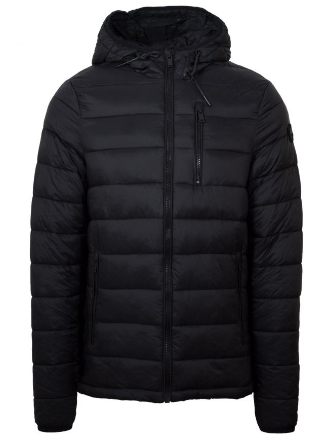 Black Ivvavik Lightweight Puffer Jacket
