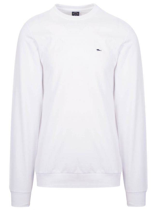 White Shark Logo Sweatshirt