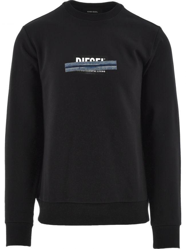 Black S Girk N83 Sweatshirt
