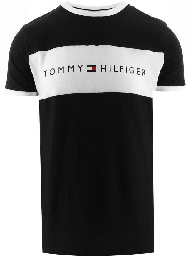 Black Logo Flag T-Shirt