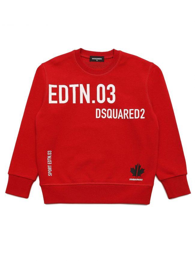 Red Cool Fit Sweatshirt