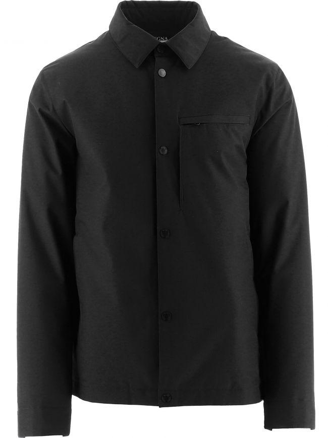 Black Windcheater Jacket