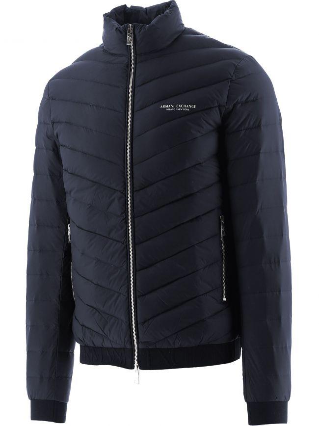 Navy Milano Puffer Jacket