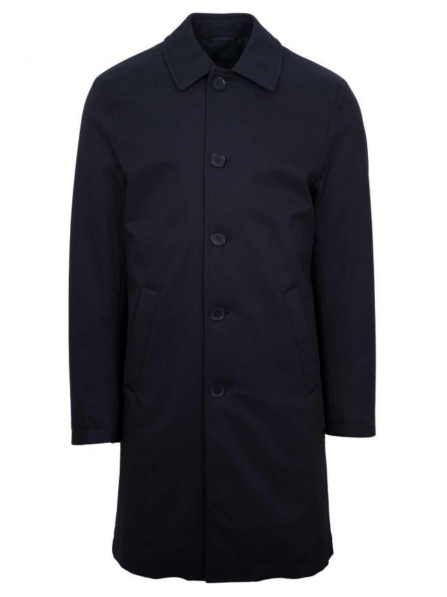 Navy Blue Over Coat
