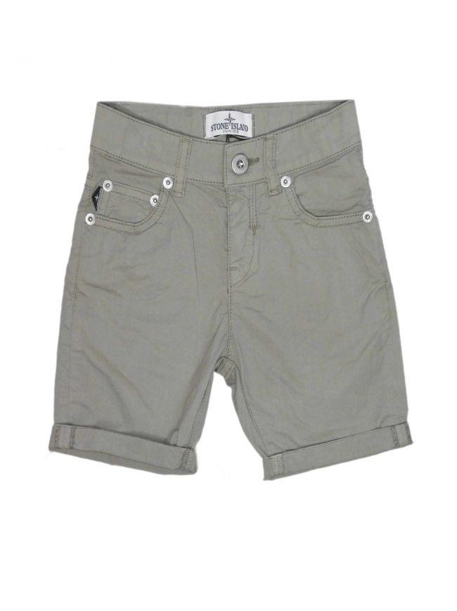 Stone Grey Bermuda Short