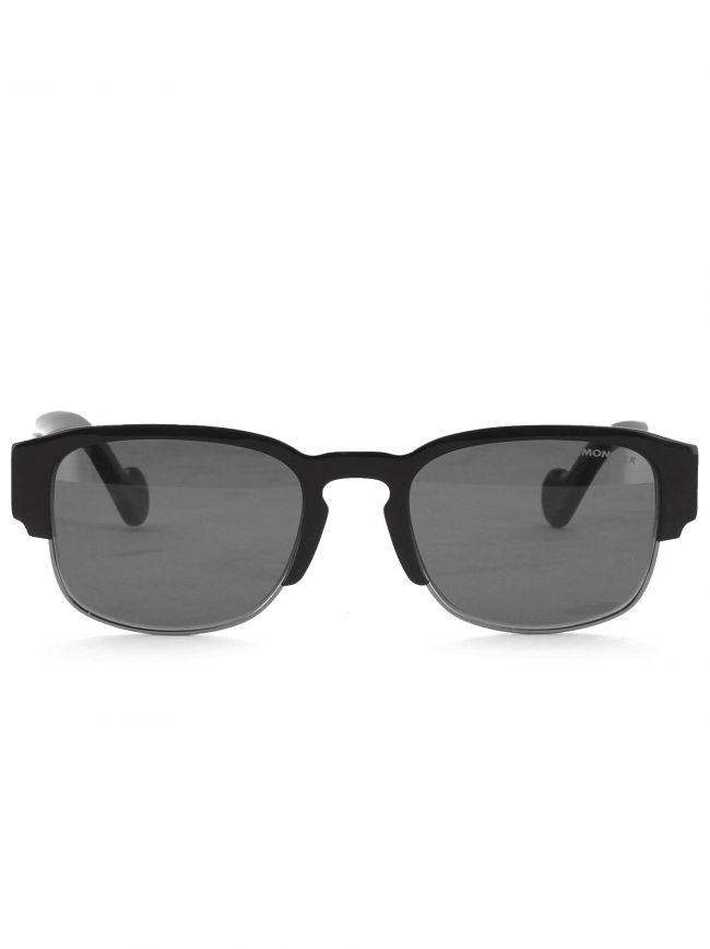 ML0125 Black Browline Sunglasses