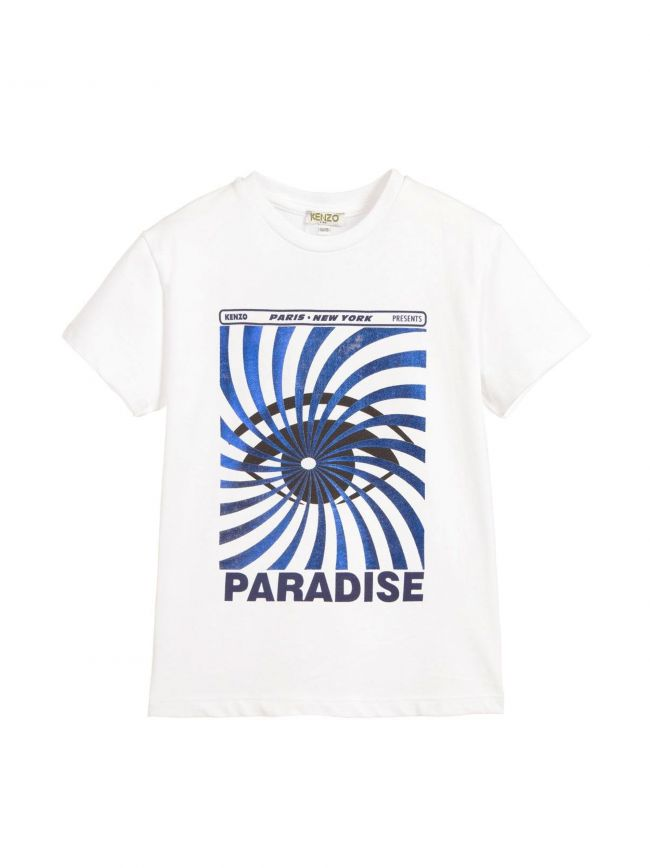 White Paradise Eye T-Shirt