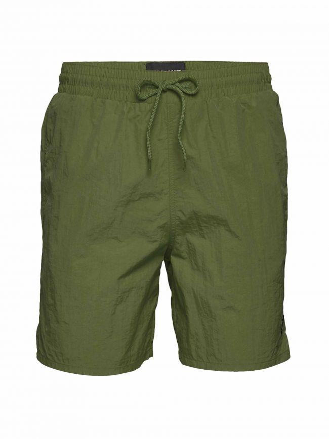 Khaki Swim Shorts