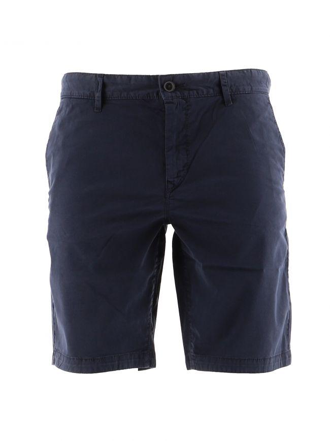 Navy S Chino Slim Shorts