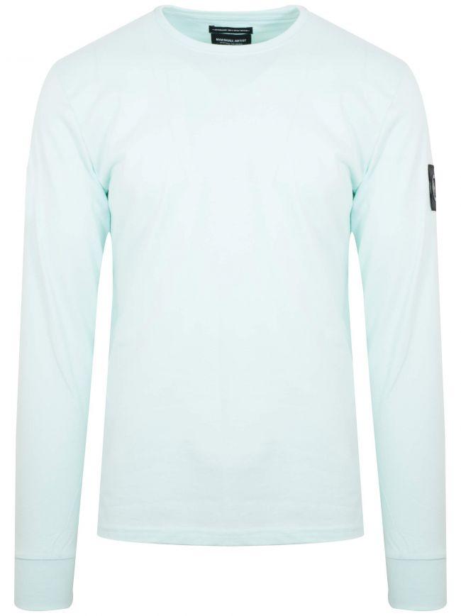 Mint Green Garment Dyed T-Shirt