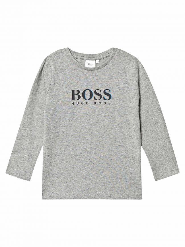 Grey Long-Sleeved T-Shirt