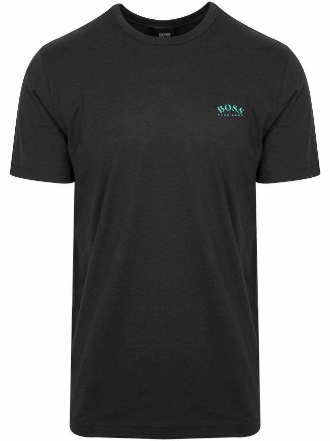 Black Tee Curved T-Shirt