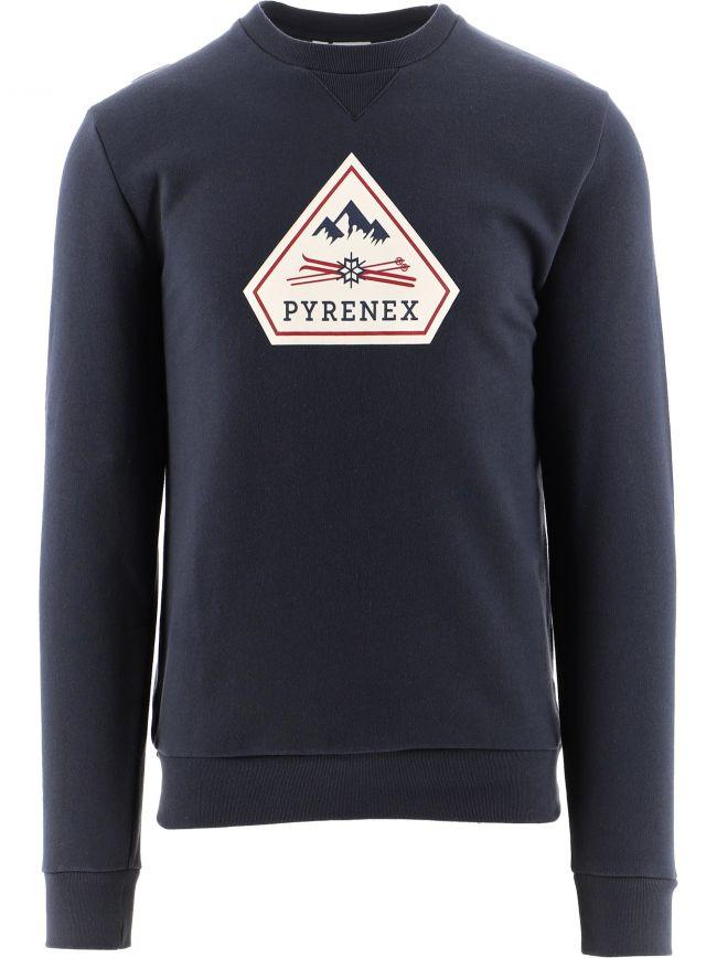 Navy Charles 2 Brushed Sweatshirt