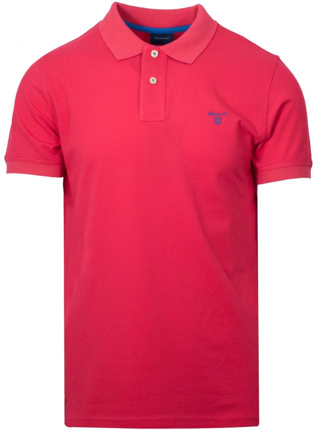 Watermelon Red Polo Shirt